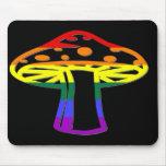 Rainbow Pride Mushroom Mouse Pads