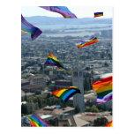 Rainbow Pride Over Berkeley Post Cards