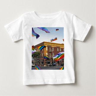 Rainbow Pride Over South San Francisco Baby T-Shirt