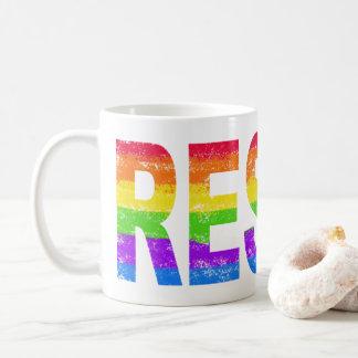 Rainbow Pride Resistance Mug