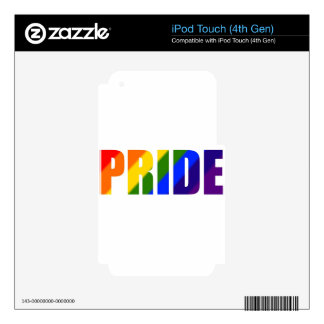 rainbow pride skins for iPod touch 4G