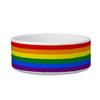 Rainbow Pride Stripes Bowl