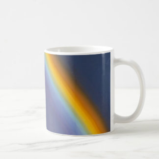 rainbow PRISM AIRPLANE Coffee Mug