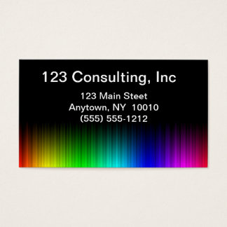 Rainbow Prism Business Card