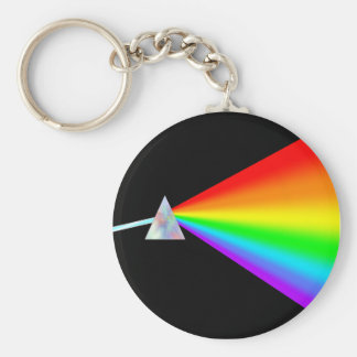Rainbow Prism Keychain