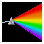 Rainbow Prism Poster