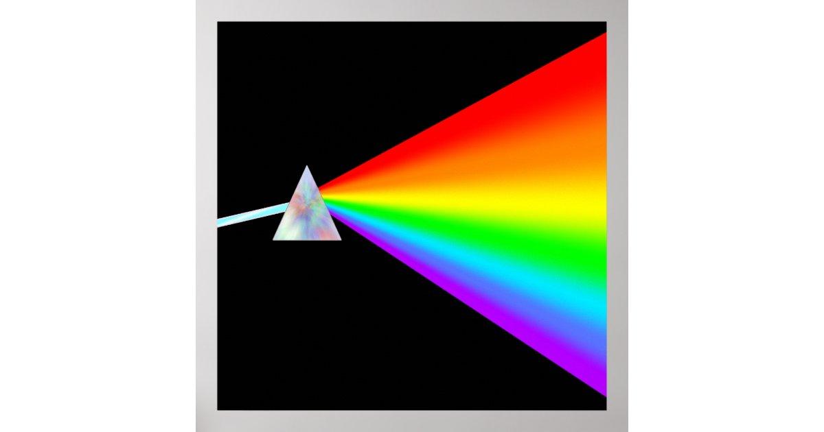 rainbow prism poster