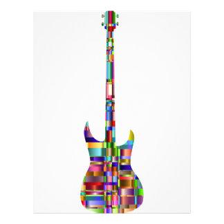 Rainbow Prismatic Guitar Letterhead