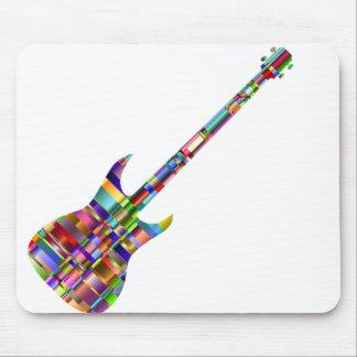 Rainbow Prismatic Guitar Mouse Pad