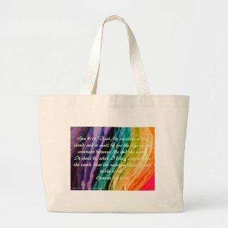 Rainbow Promise Jumbo Tote Bag