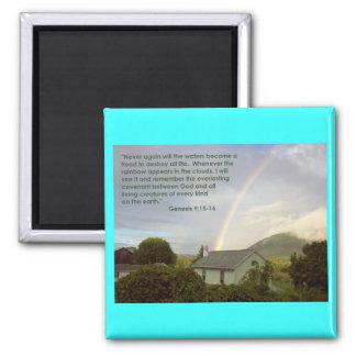 Rainbow Promise Fridge Magnets