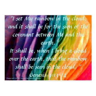 Rainbow Promise Postcard