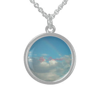 Rainbow Promise Sterling Silver Necklace