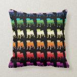 Rainbow Pugs Pillows