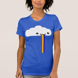 Rainbow Puking Cloud Tee-shirt