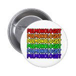 Rainbow Pulmonologist Button