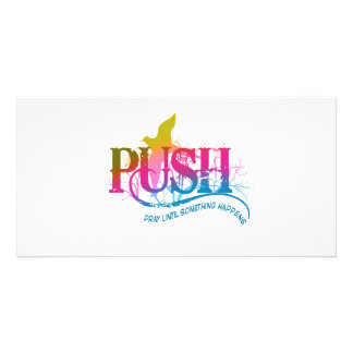 Rainbow PUSH Picture Card