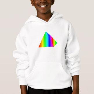 Rainbow Pyramid Hoodie
