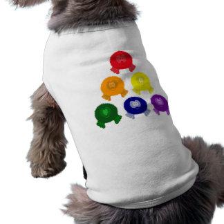 Rainbow Pyramid Pom Pom Pals Dog Tee