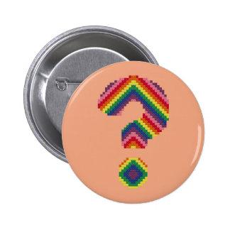 Rainbow Question Mark Button
