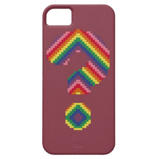 Rainbow Question Mark iPhone 5 Cover