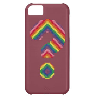 Rainbow Question Mark Case For iPhone 5C