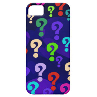 Rainbow Question Marks iPhone 5 Cover