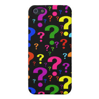 Rainbow Question Marks Cover For iPhone 5