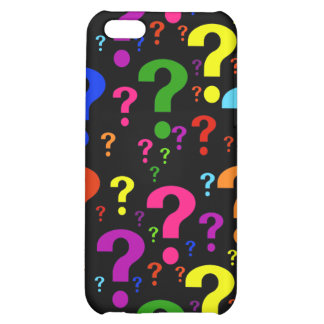 Rainbow Question Marks iPhone 5C Cover