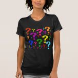 Rainbow Question Marks Shirts