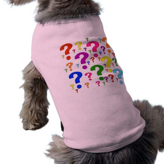 Rainbow Question Marks Tee