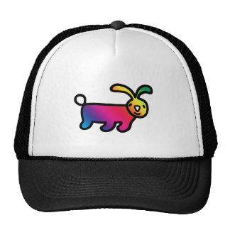 Rainbow Rabbit Hat