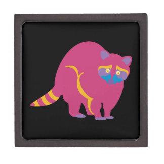Rainbow Raccoon Keepsake Box