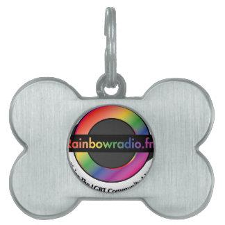 Rainbow Radio FM Merchandise Pet Name Tag