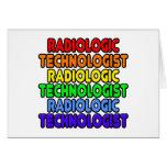 Rainbow Radiologic Technologist Greeting Card
