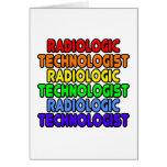 Rainbow Radiologic Technologist Greeting Cards