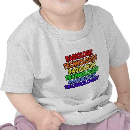 Rainbow Radiologic Technologist T-shirt