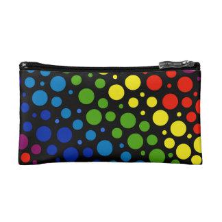Rainbow Rain Makeup Bags