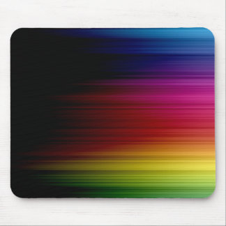 Rainbow rain Mousepad