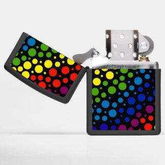 Rainbow Rain Zippo Lighter