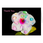 Rainbow Raindrops Periwinkle | Small Note Card