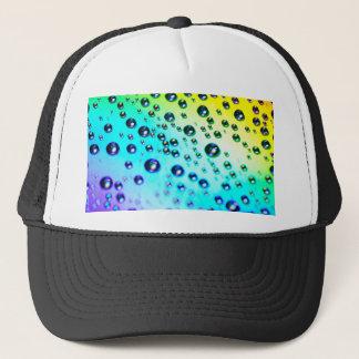Rainbow Raindrops Trucker Hat