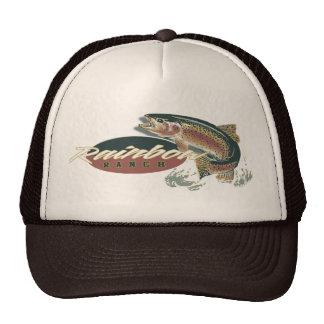 rainbow ranch hats
