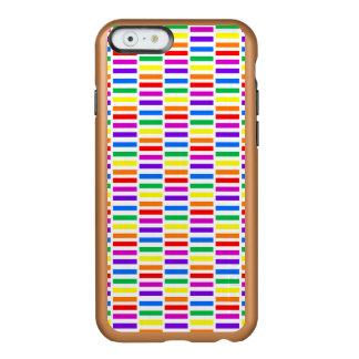Rainbow Rectangle Pattern Incipio Feather® Shine iPhone 6 Case