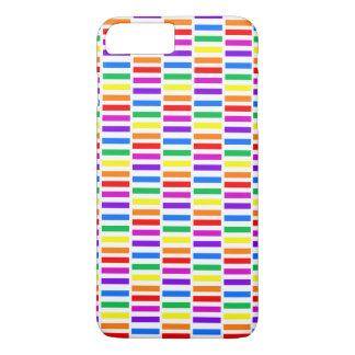 Rainbow Rectangle Pattern iPhone 7 Plus Case
