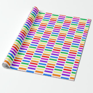 rainbow wrapping paper