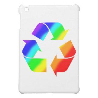 Rainbow Recycle Sign iPad Mini Covers