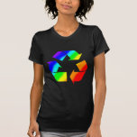Rainbow Recycle Sign Shirt