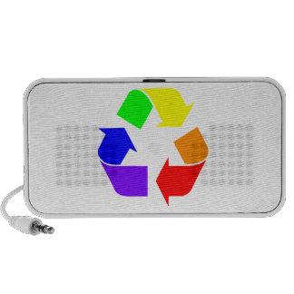 Rainbow Recycle Portable Speakers