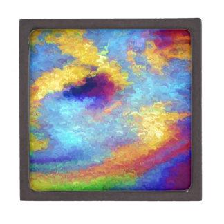 Rainbow Reflections in Water Keepsake Box